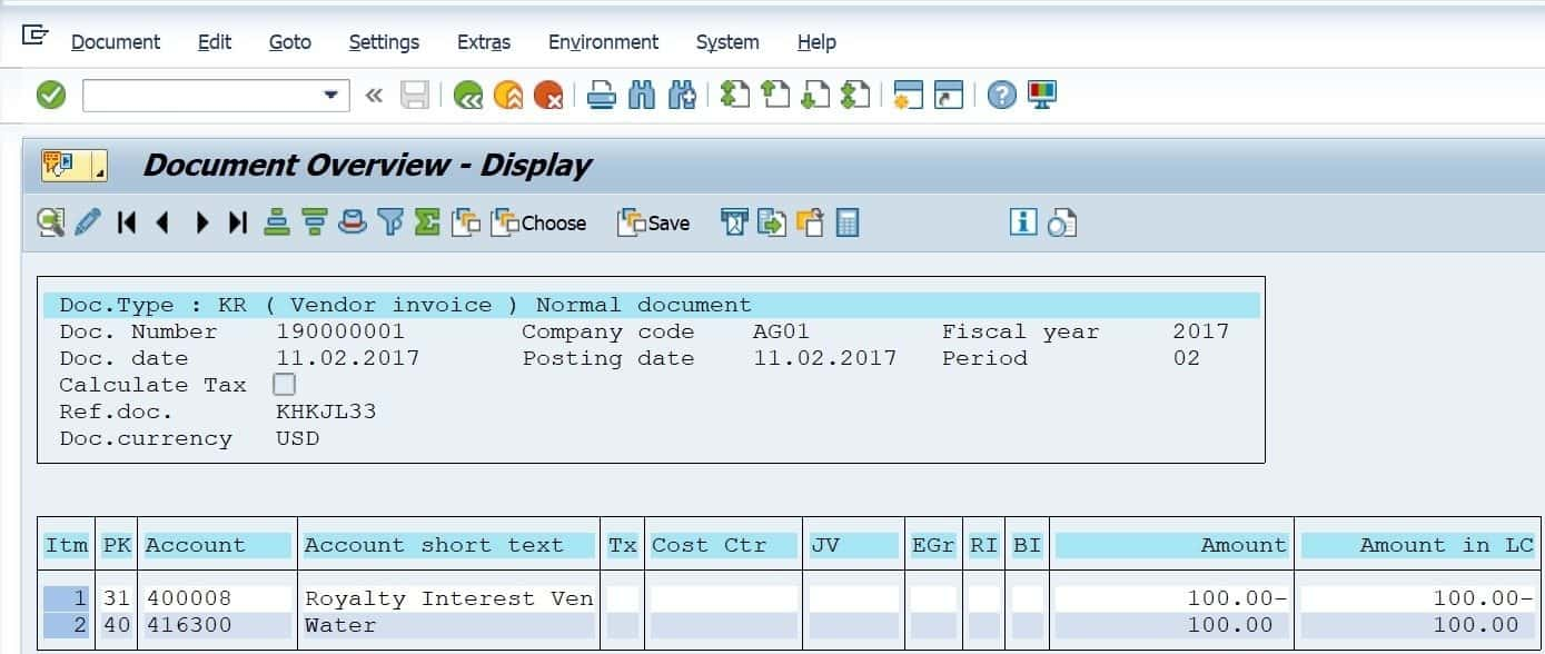 and double click on the line item, you will see a clearing document and date. This would be like trying to reverse an invoice when it has already been paid.