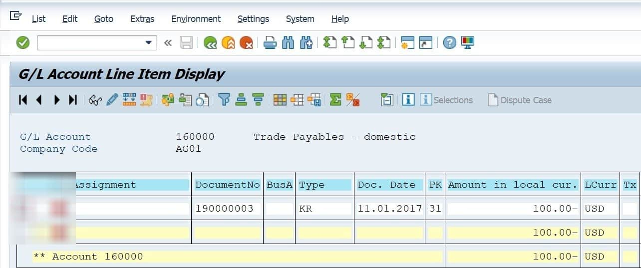 The posting got updated in the recon account as well. So our posting updated the vendor ledger, the G/L account that was the offset to the vendor posting and the recon acount that was used in the vendor master. Make a few postings and run FBl3n and view the documens in FB03 to get fully understand the concept of a recon account.