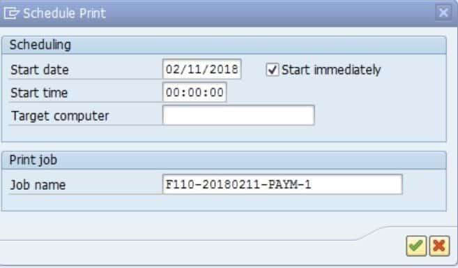 F110 Outgoing payments to a vendor - Sapsharks
