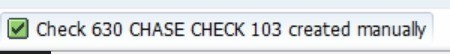 We can now view this check by entering the tcode to display check information Tcode- FCH1 Enter the details of check number we just created