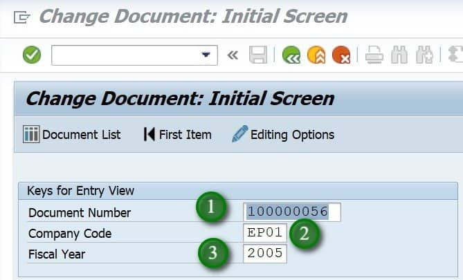 If you do not know your document number, you can click on the Document List and find it.