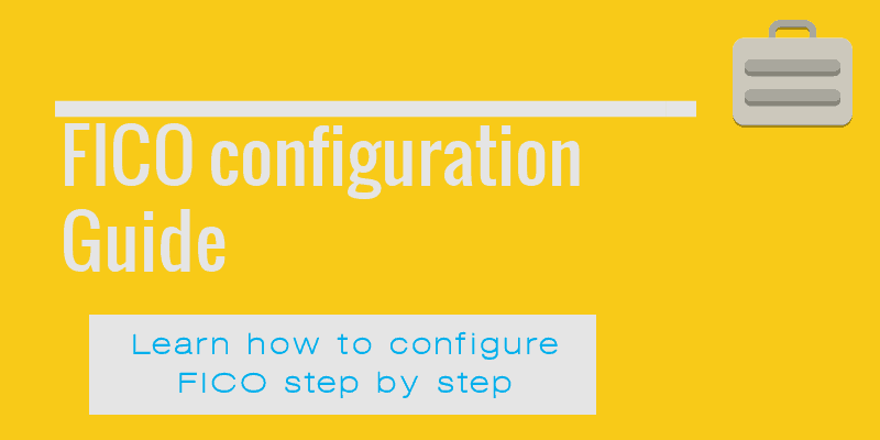 FICO configuration document - Sapsharks