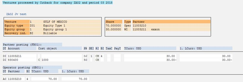 Run current month equity change using the menu path below or through tcode GJEC.
