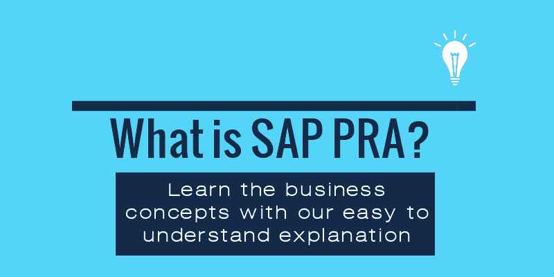 What is SAP PRA - Sapsharks