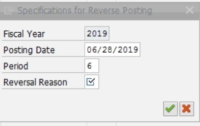 you can do a dropdown to look at all the reversal reasons.