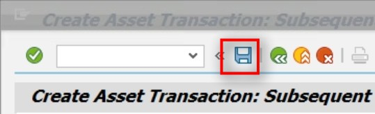The transaction gets posted.