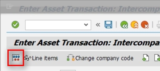 View the transaction