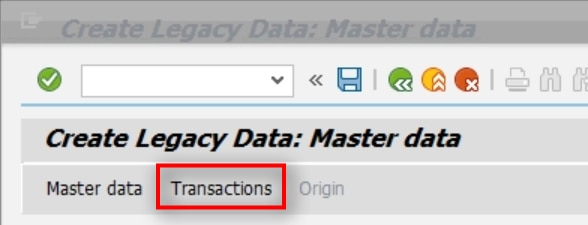 The Transactions tab is used for entering the current year asset transactions. E.g. you are going live on 6/1/2019. You have entered the acqusition value, cumulated depreciation and the current year depreciation on the previous screen. On this screen, you will record any transfers, retirements or any other transactions that happened in the current year.