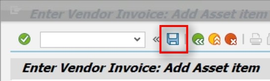 You have now finished the steps for purchasing an asset from a vendor. You should see this transaction refelct in the asset master and you should also see an open item in FBL1N for the vendor master